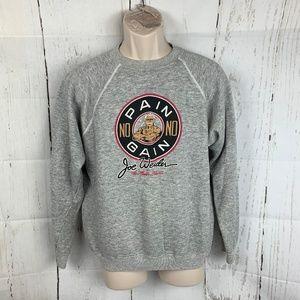 Vintage Joe Weider Bodybuilder Sweatshirt